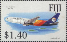 [The 40th Anniversary of the Air Pacific, type UJ]