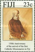 [The 150th Anniversary of the Arrival of Catholic Missionaries in Fiji, type WW]
