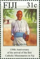 [The 150th Anniversary of the Arrival of Catholic Missionaries in Fiji, type WX]