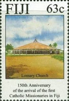 [The 150th Anniversary of the Arrival of Catholic Missionaries in Fiji, type WZ]
