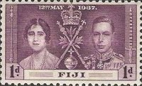 [Coronation of King George VI and Queen Elizabeth, type X]
