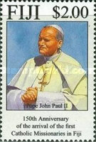 [The 150th Anniversary of the Arrival of Catholic Missionaries in Fiji, type XB]