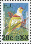 [Bird Issues of November 1995 Surcharged, type XXV]