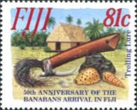 [The 50th Anniversary of the Resettlement of Banabans, inhabitans of Ocean Island, in Fiji, type YL]