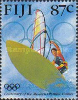 [The 100th Anniversary of the Modern Olympic Games, type ZA]