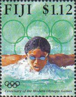 [The 100th Anniversary of the Modern Olympic Games, type ZB]