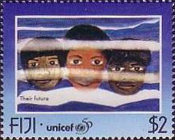 [The 50th Anniversary of UNICEF - Children's Paintings, type ZM]