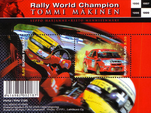 [Rally World Champion - Tommi Mäkinen, Typ ]