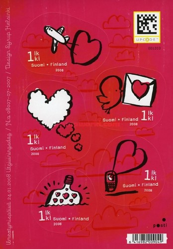 [Valentines Day - Self-Adhesive Stamps, Typ ]