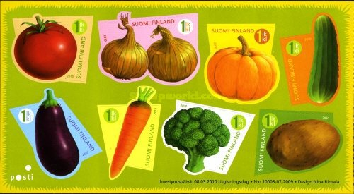 [Funny Vegetables - Self Adhesive, Typ ]