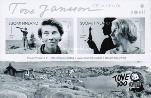 [The 100th Anniversary of the Birth of Tove Jansson, 1914-2001, Typ ]