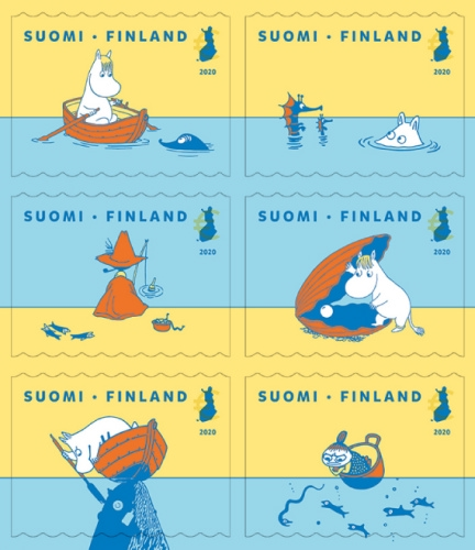 [Moomins - Protection of the Baltic Sea, type ]