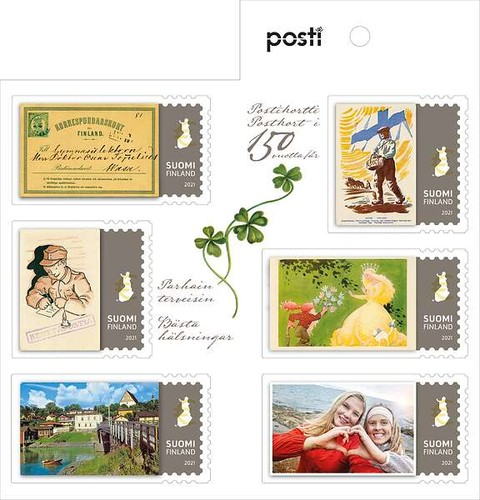 [The 150th Anniversary of Postal Cards in Finland, type ]