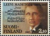 [The 100th anniversary of the birth of the Leevi Madetoja, Typ ABL]