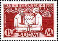 [The 100th anniversary of the publication of the Finnish national epic Kalevala, Typ BG]