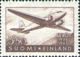 [The 20th anniversary of the Finnish Airline Company, Typ DQ]