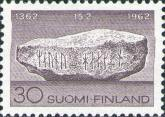 [the 600th anniversary of Finland's first participation in the election of the king at the Mora Stone, Typ LN]