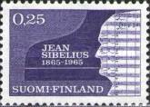 [The 100th anniversary of the birth of Jean Sibelius, Composer, Typ NB]