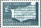 [The 100th anniversary of the birth of Jean Sibelius, Composer, Typ NC]