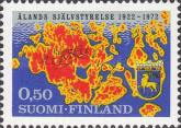 [The 50th anniversary of the first landsting of Aaland, Typ QP]