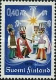 [Christmas stamp, Typ TA]