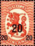 [Standing lion Stamps of 1917 Surcharged, Typ U1]