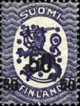 [Standing lion Stamps of 1917 Surcharged, Typ U2]