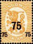 [Standing lion Stamps of 1917 Surcharged, Typ U3]
