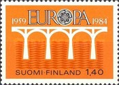 [EUROPA Stamps - Bridges - The 25th Anniversary of CEPT, Typ YY]