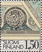 [The 100th Anniversary of the First Finnish Banknotes, Typ ZM]
