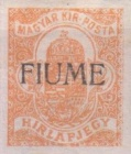 """[Hungary Newspaper Stamp of 1913 Overprinted """"FIUME"""", type A]"""