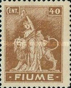 """[New Daily Stamps - Inscription """"FIUME"""", type AA1]"""