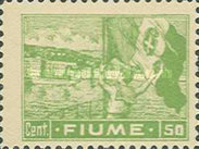 """[New Daily Stamps - Inscription """"FIUME"""", type AB1]"""