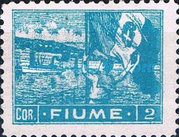 """[New Daily Stamps - Inscription """"FIUME"""", type AB4]"""