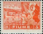 """[New Daily Stamps - Inscription """"FIUME"""", type AB5]"""