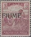 [Overprinted Postage Stamps from Hungary, type C1]