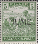 [Overprinted Postage Stamps from Hungary, type C2]