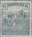 [Overprinted Postage Stamps from Hungary, type C3]