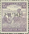[Overprinted Postage Stamps from Hungary, type C5]