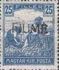 [Overprinted Postage Stamps from Hungary, type C7]