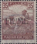 [Overprinted Postage Stamps from Hungary, type C8]