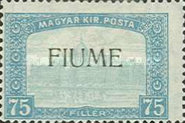 [Overprinted Postage Stamps from Hungary, type M1]