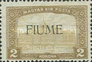[Overprinted Postage Stamps from Hungary, type M4]
