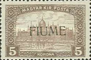 [Overprinted Postage Stamps from Hungary, type M6]