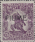 [Overprinted Postage Stamps from Hungary, type T]
