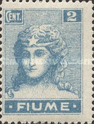 """[New Daily Stamps - Inscription """"FIUME"""", type Y]"""