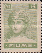 """[New Daily Stamps - Inscription """"FIUME"""", type Y2]"""