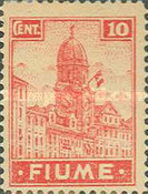 """[New Daily Stamps - Inscription """"FIUME"""", type Z]"""