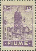 """[New Daily Stamps - Inscription """"FIUME"""", type Z1]"""