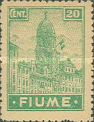 """[New Daily Stamps - Inscription """"FIUME"""", type Z2]"""